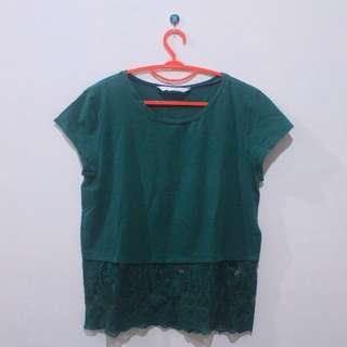T- Shirt Brokat Minimal 45k only! (MASIH BISA NEGO)