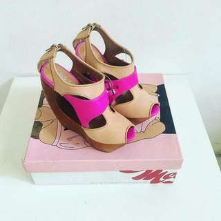 Pink shoes By Jeffrey Campbell