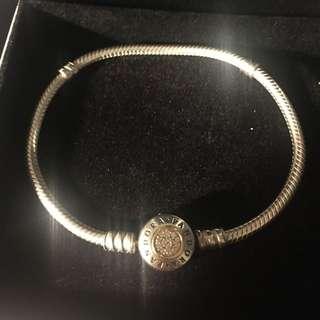 Pandora Moment Two Tone Silver N Gold Bracelet