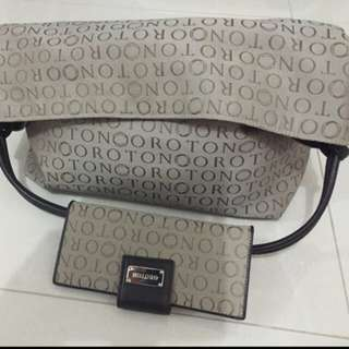 Oroton bag n wallet