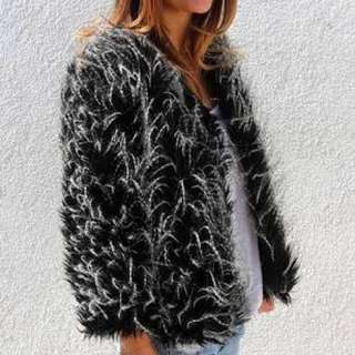 Sexy Party Fur Jacket (S/M)