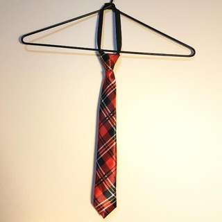 New Pre-tied Red Tie
