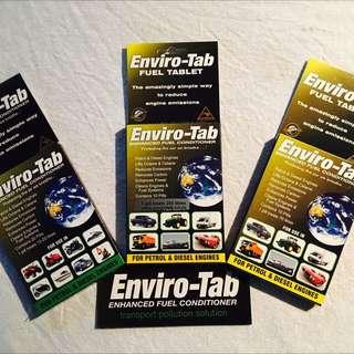 Enviro-Tab DECREASE fuel emissions EXTEND engine life YOU save money