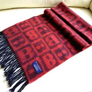 (特價$558 厚!)Burberry Vintage Scarf 頸巾 圍巾