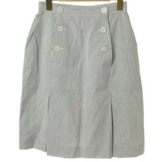 Christian Dior 直條紋窄裙