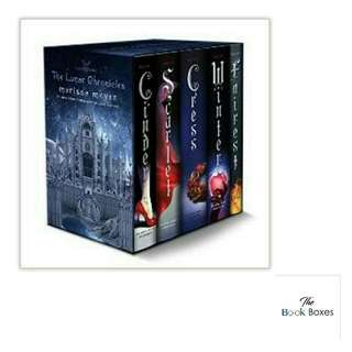 The Lunar Chronicles Hardcover Boxset
