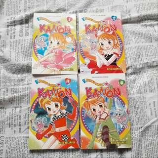 Komik Seri Fairy Idol Kanon