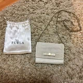 Furla Crossbody Purse w Chain