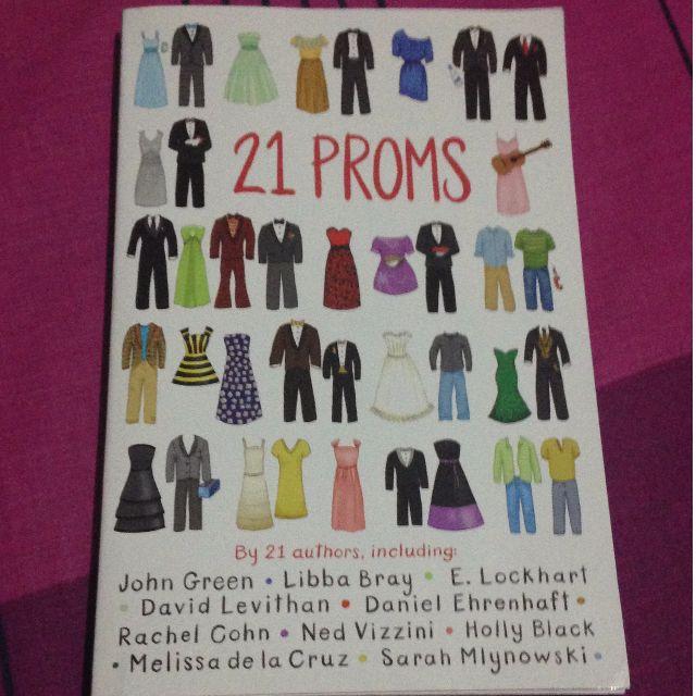 21 Proms book