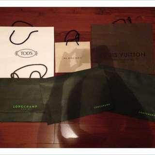 TOD's LV Burberry Longchamp提袋