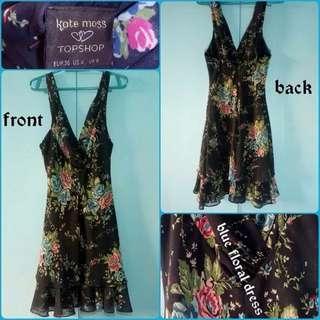 Kate Moss Topshop Floral Dress