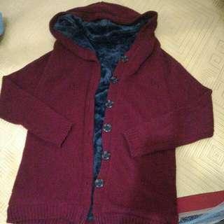 🚚 長版保暖針織外套