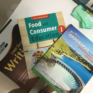 Lower Secondary Textbooks