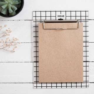 IDEAS Clipboard Stationery Set