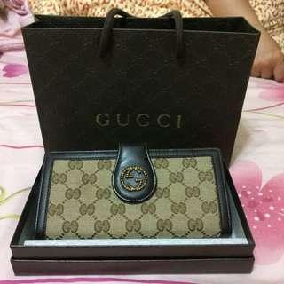 Gucci長夾保證正貨極新