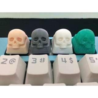 3D PRINTING MX SKULL KEYBOARD KEYCAPS
