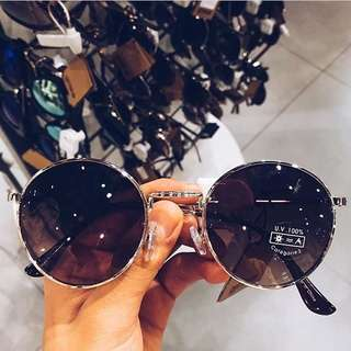 cotton on sunnies in silver