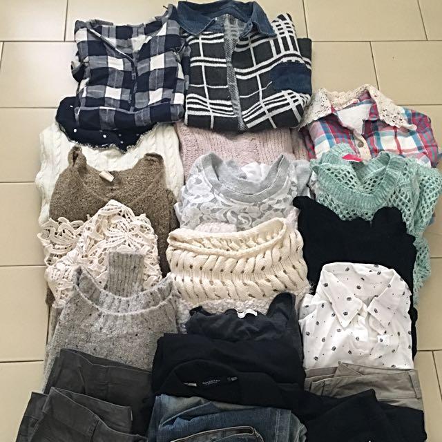 2手衣服~