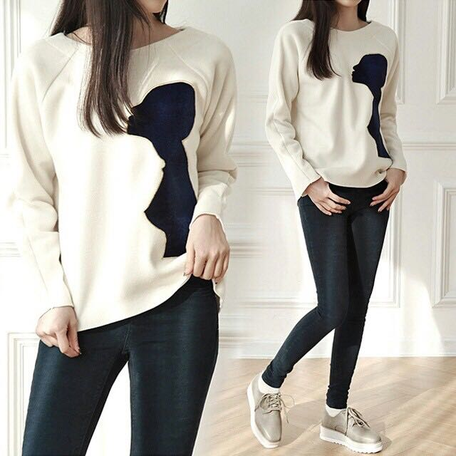 2in1 SET SHADOW SWEATER