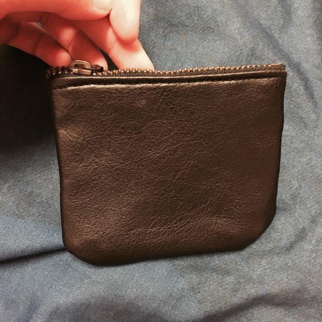 手工復古零錢包