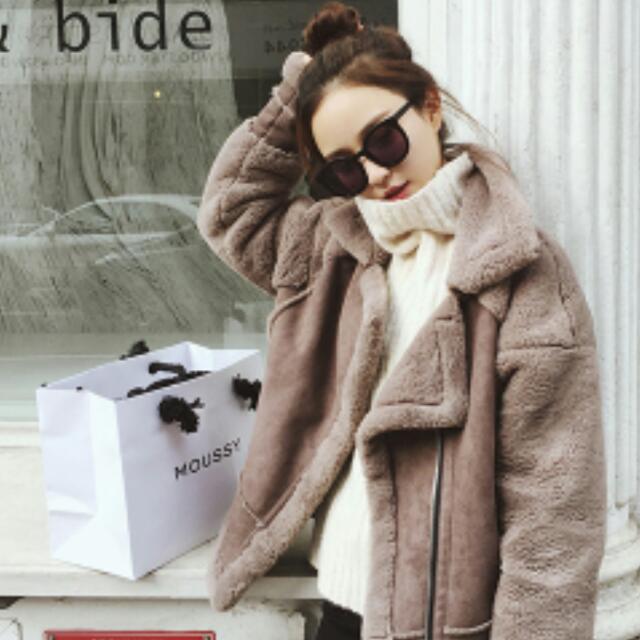 秋冬必備毛絨大外套