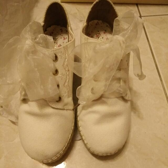 🌸 LIZ LISA 日系 厚底鞋 蕾絲 蝦皮含運