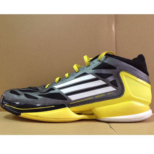 Adidas Crazylight 2011 Low 黑黃