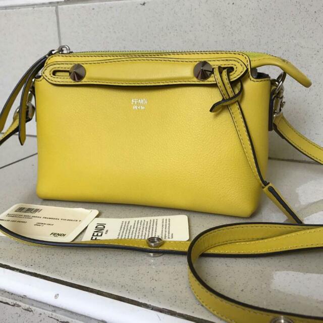 aunthentic fendi btw mini yellow 2015 SALE FAST