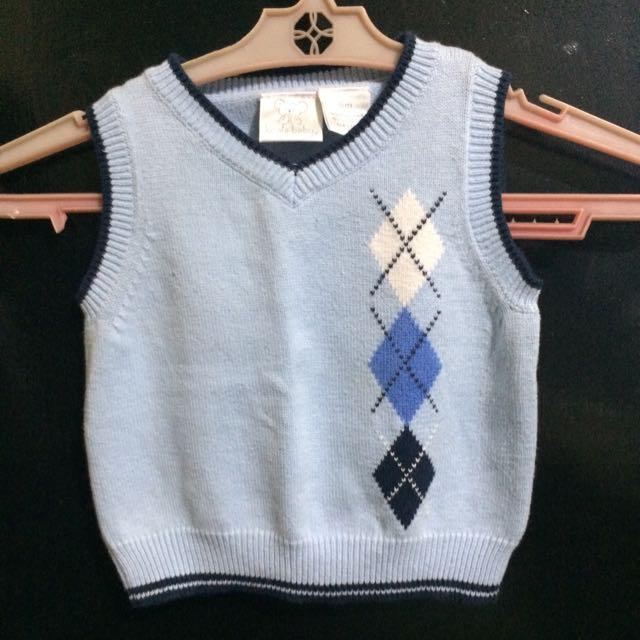 Baby Boy Blue Vest