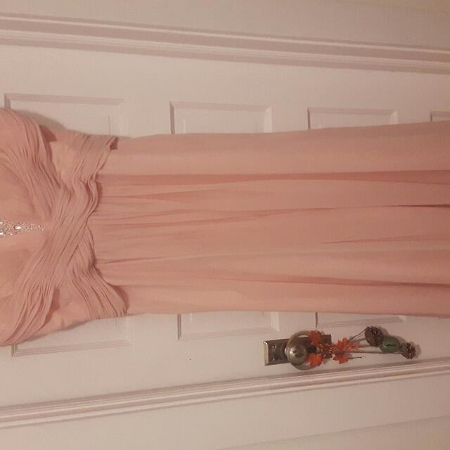 Baby Pink Designer Dress