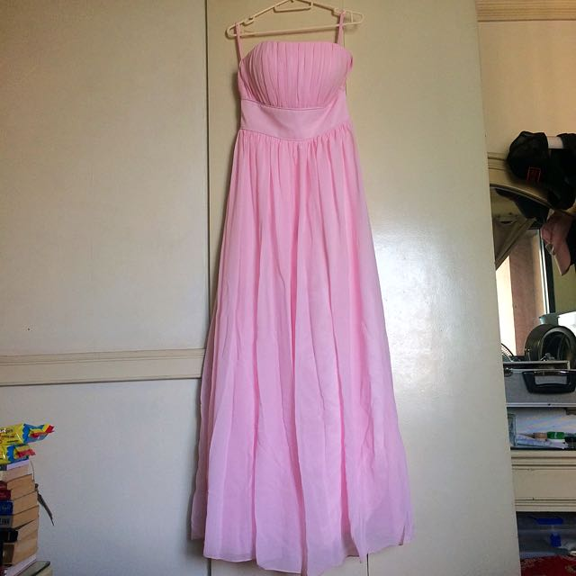 Baby Pink Long Gown
