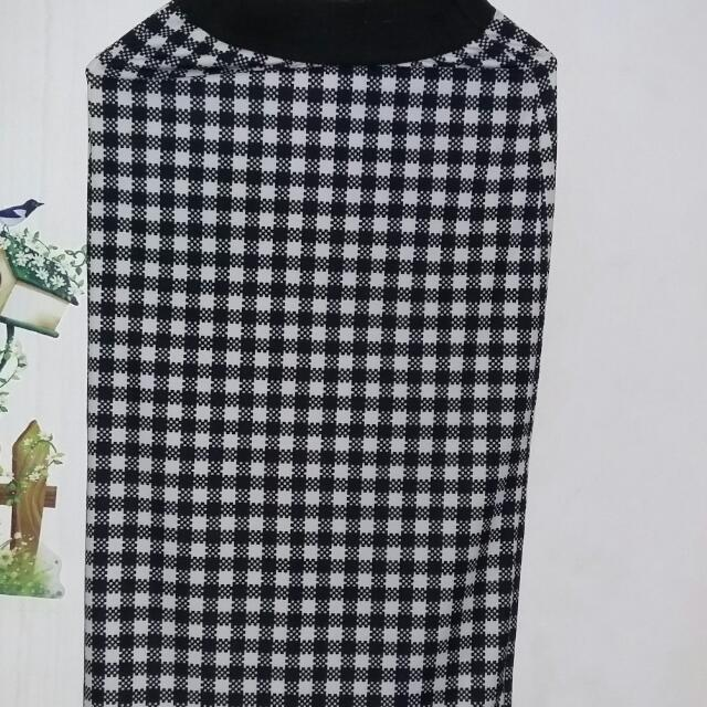 Black & White Long Skirt