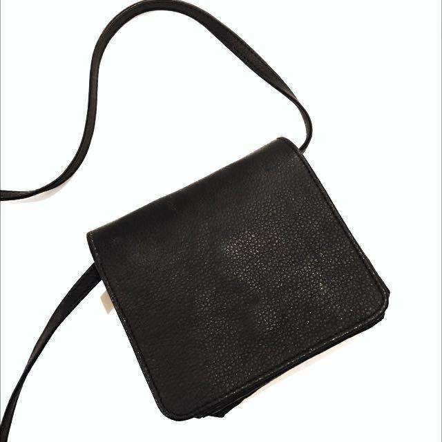 Black Mini Crossbody Bag