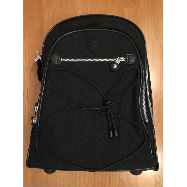 BRAND NEW tags on Kipling Rolling Backpack (BLACK)