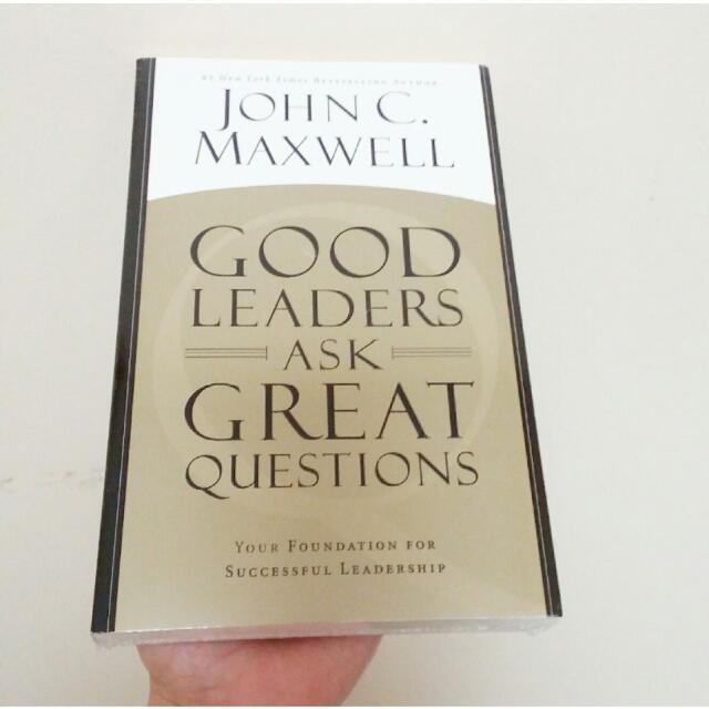 "Buku ""Good Leaders Ask Great Questions"" By John C. Maxwell"