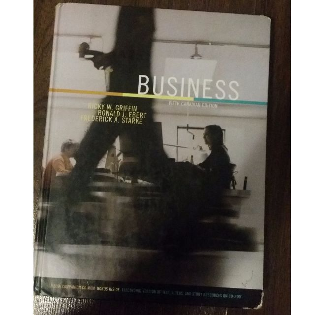 Business - Fifth Canadian Edition