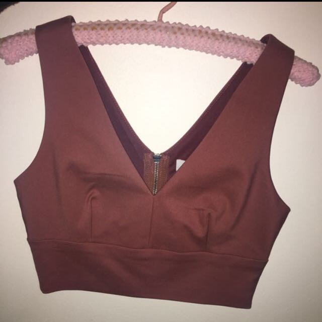Crop Top New Size 8