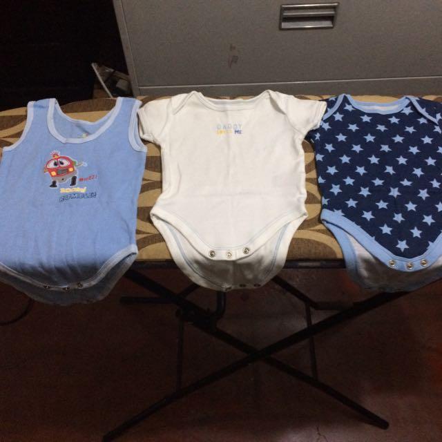 Cute Onesies For Baby Boy Set Of 3