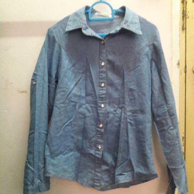 Denim Blouse/Outerwear