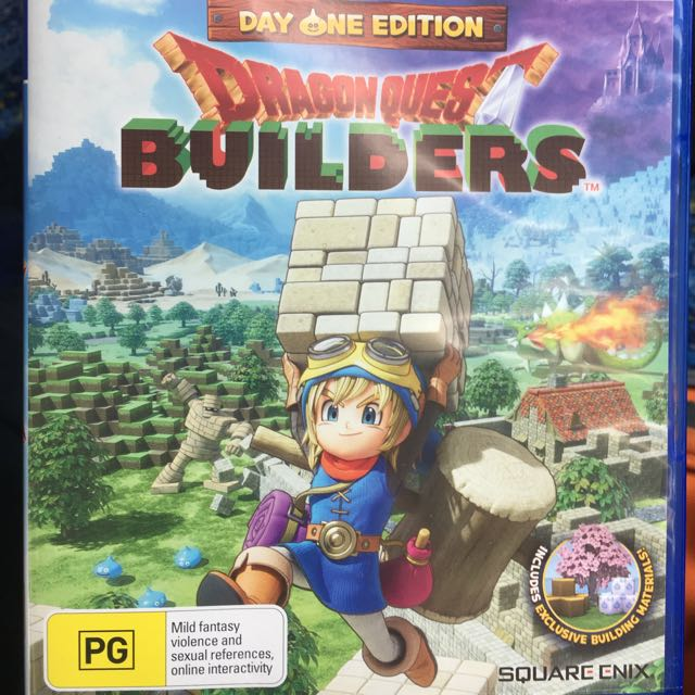 Dragon Quest Builders For PS4
