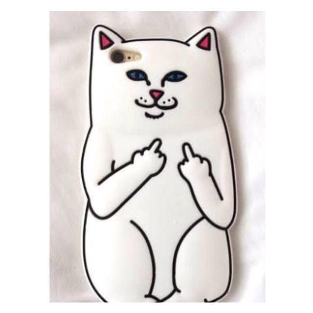 Fuck Off Cat Iphone 6 Case