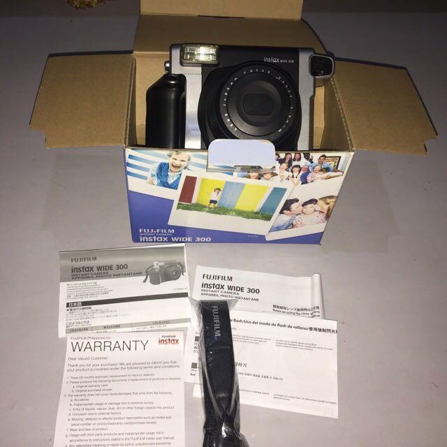 Fujifilm Intax Wide 300