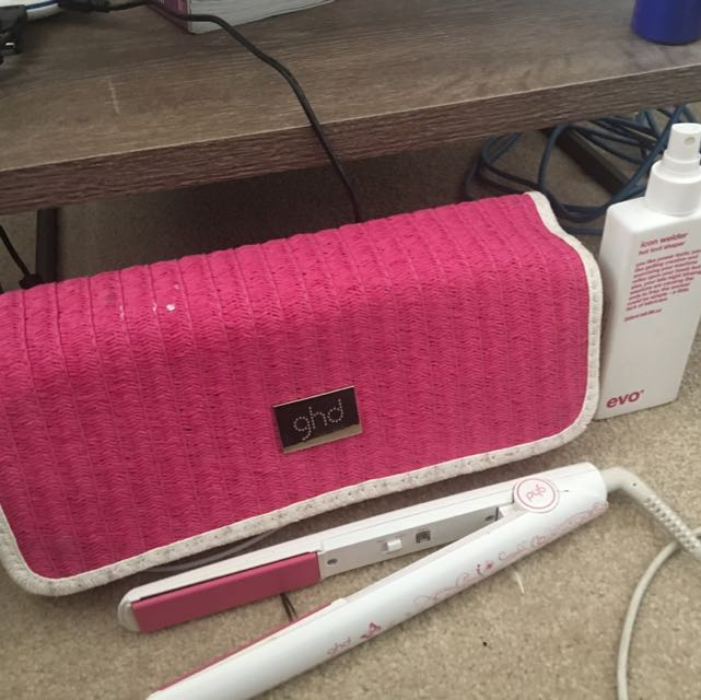 GHD Special Edition Pink And Evo Hair Care