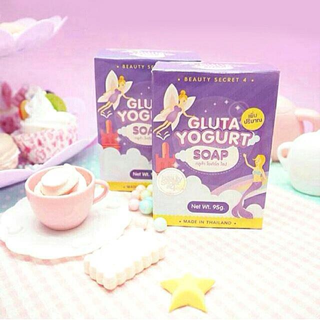 Gluta Yogurt Soap By. Beauty Secret 4 100% Original Thailand