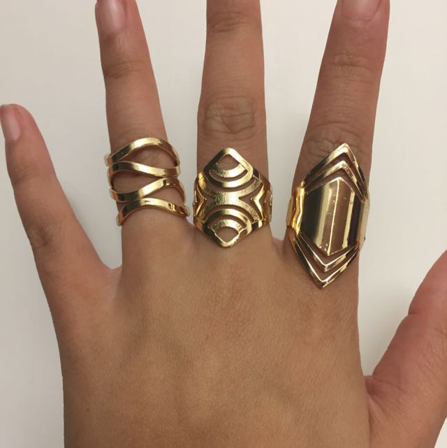 Gold Fashion Rings