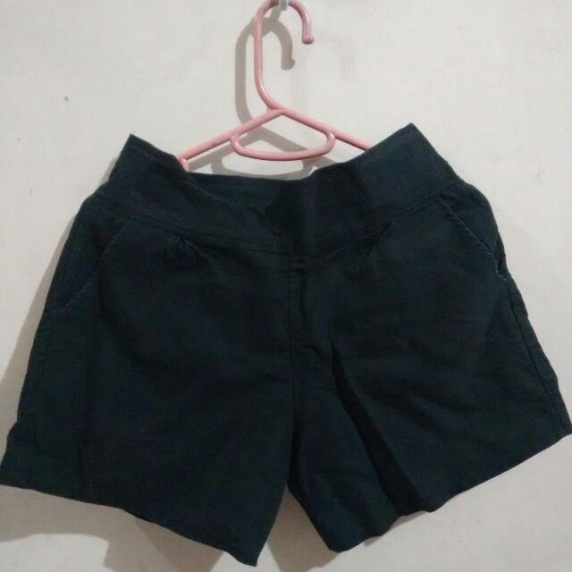 High Waist Shorts (Black)
