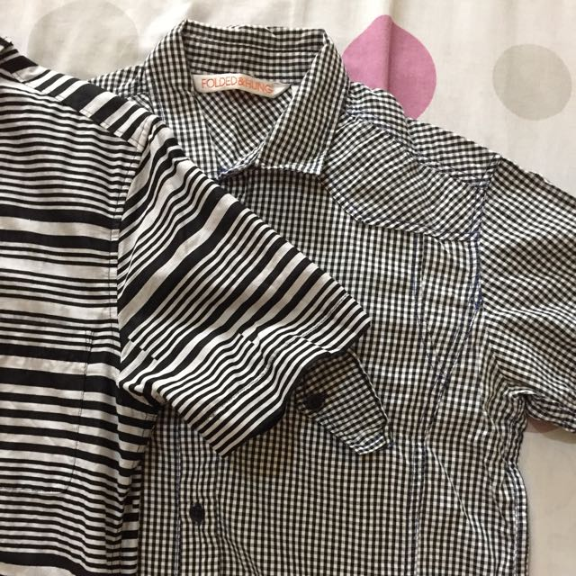 H&M And Folded&Hung Polo (2 For Php600)