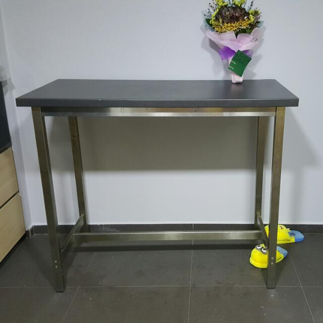 Ikea utby bar table furniture tables chairs on carousell watchthetrailerfo