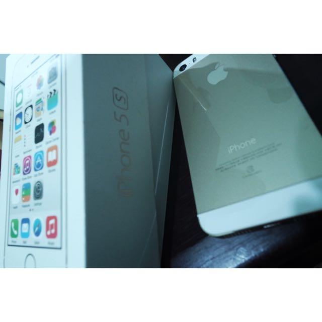 🍎二手iphone 5s 金 16g外觀極新 2014出產