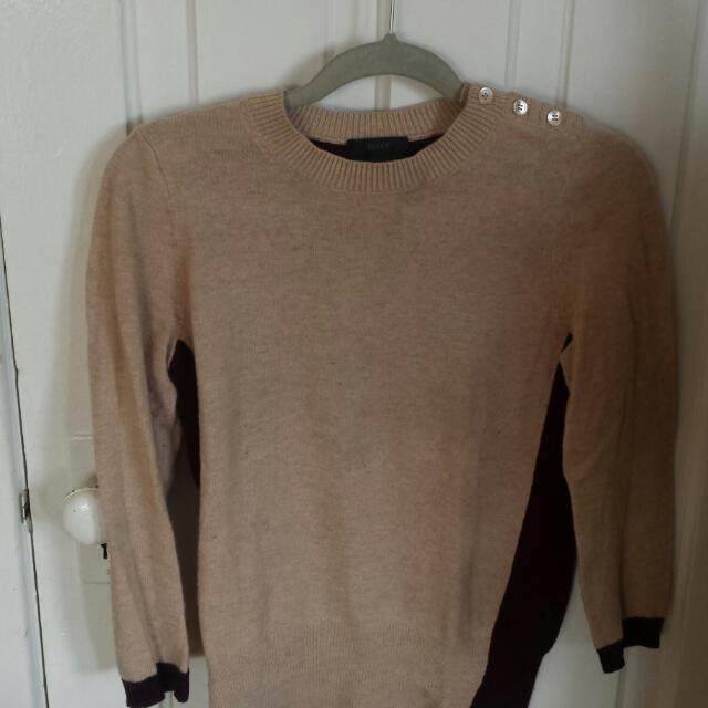 J.crew Colour block Sweater